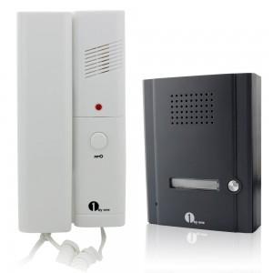 1byone 2 Wires Audio Door Phone Intercom System