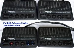 Intercom Central 246 - Four Channels HOME Power-line Intercom System