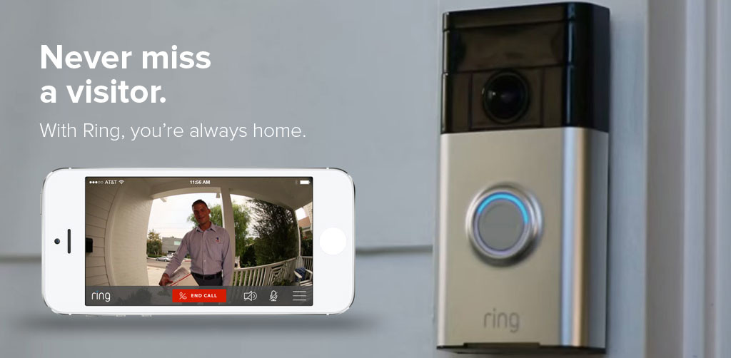 ring wi-fi enabled video doorbell features