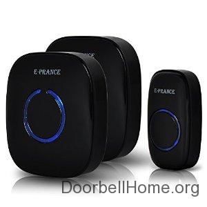 E-PRANCE® Wireless Doorbell on Amazon