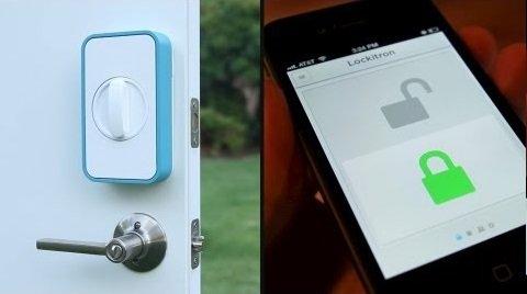 Lockitron Keyless Entry Using Your Phone