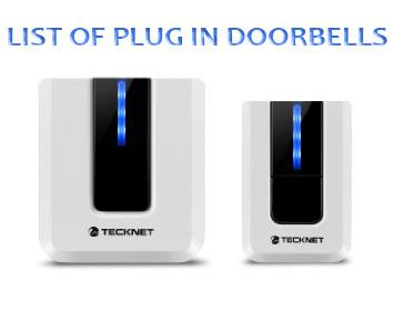 List of Plug In Doorbells