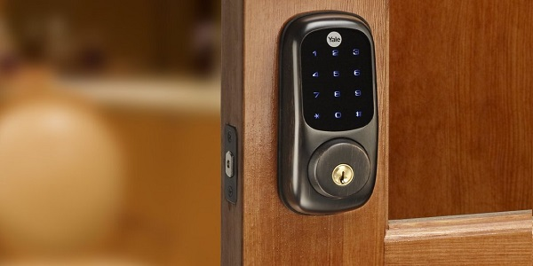 Yale Security Real Living Electronic Touch Screen Deadbolt YRD220-ZW0BP