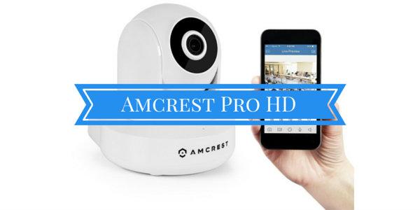 Amcrest Pro HD Wireless Security Camera