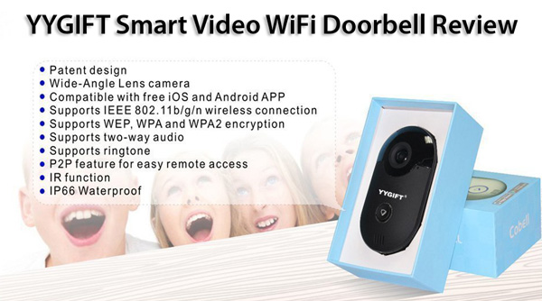 YYGIFT Smart Video WiFi Doorbell Review