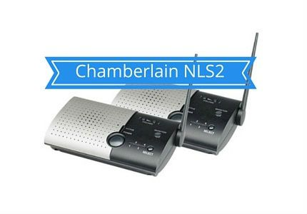 Chamberlain NLS2 intercom system for office