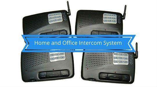 Home and Office Intercom System Digital FM
