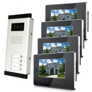 Amocam LCD Monitor Wired Video Doorbell