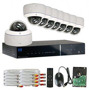 GW Security 8CH HD DVR Security System