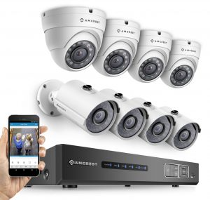 Amcrest Full-HD 1080P 8CH Video Security System