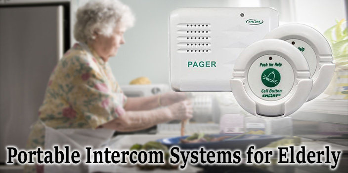 Portable Intercom Systems for Elderly