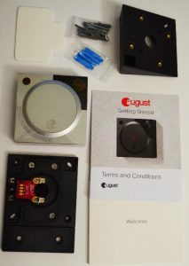 August Video Doorbell Installation
