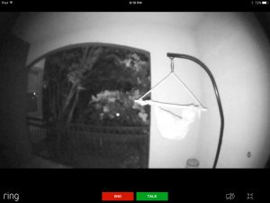 Ring Pro Doorbell - Night Time