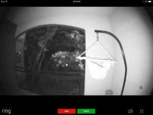 Ring Pro Doorbell - Night Time