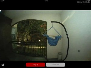 Skybell HD - Night Time