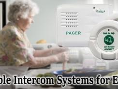 Portable Intercom Systems for Elderly