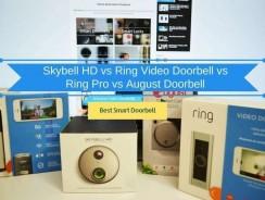 Skybell HD vs Ring Doorbell Pro vs August Doorbell: Which Smart Doorbell is The Best?