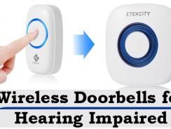 Wireless Doorbells for Hearing Impaired