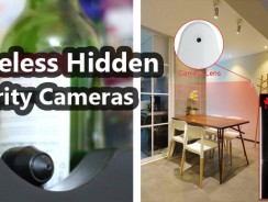 Wireless Hidden Security Cameras